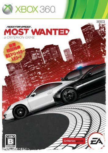 Price comparison product image Need for Speed Most Wanted (Criterion) [Japan Import] by Electronic Arts