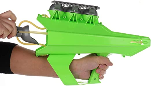Amazon.com: TRIEtree Snowball Blaster Gun Snow Ball Shooter 2-in-1 Snowball  Maker and Launcher Gun Outdoor Winter Snow Fight Game Toys for Kids and  Adults: Sports & Outdoors