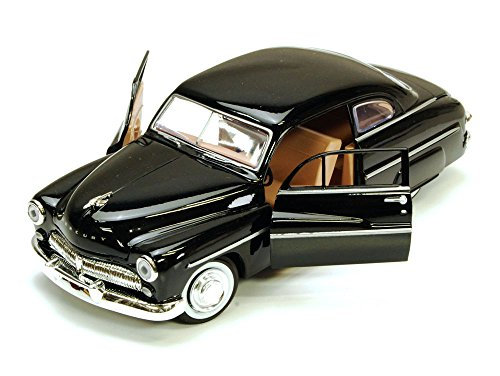 (1949 Mercury Eight Coupe, Black - Motormax 73225 - 1/24 scale Diecast Model Toy Car)