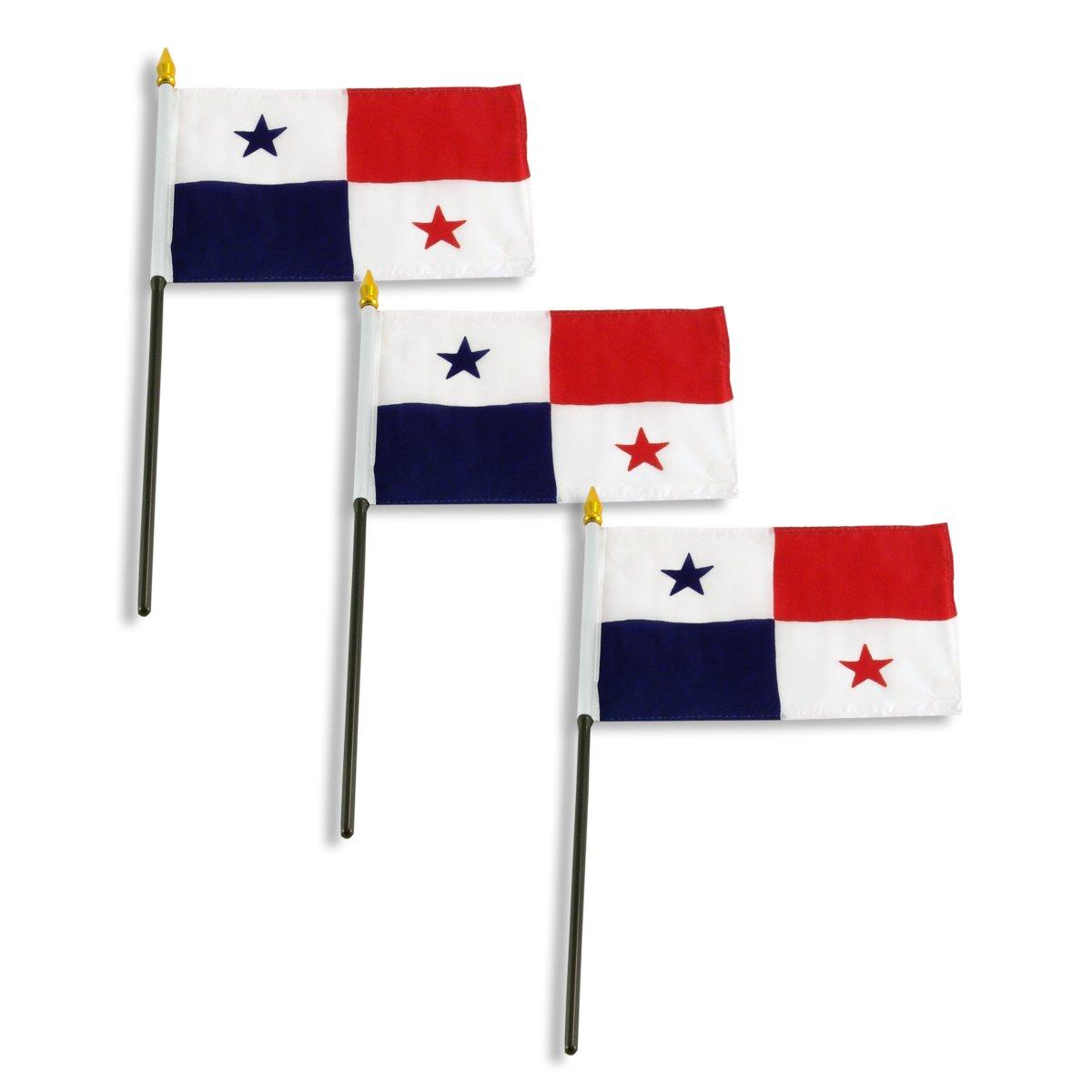 Amazon.com: Bandera de Panamá 4 x 6 inch: Jardín y Exteriores