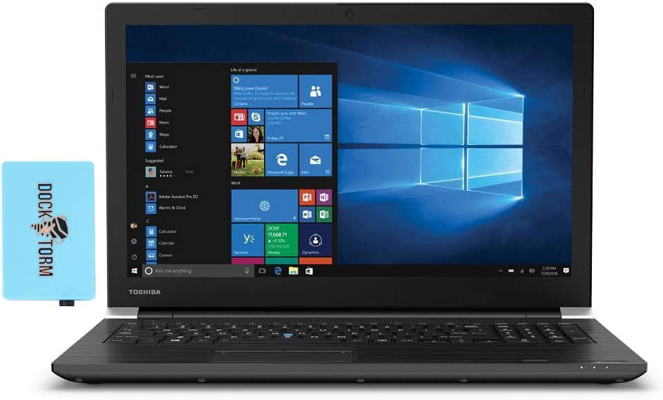 Toshiba Tecra A50-J Home and Business Laptop (Intel i7-1165G7 4-Core, 64GB RAM, 2TB PCIe SSD, Intel Iris Xe, 15.6