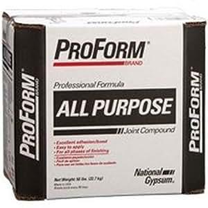 All purpose proform ctn 47lb national gypsum joint for National gypsum joint compound
