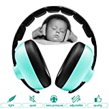 Zoom Time Baby Toddler Safety Noise Cancelling Ear Protection Headphones Travel Safe Best Hearing Protection Ages 0-2+ Years Old One Piece Design Headband Earmuffs Girls or Boy