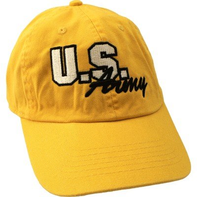 - Us Army Script Hat - Yellow