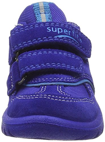 Superfit Sport7 Mini - Botas de senderismo Bebé-Niñas Azul - Blau (CYAN KOMBI 85)