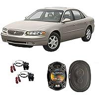Fits Buick Regal 1995-2004 Rear Deck Factory Replacement Speaker Harmony HA-R69 Speakers