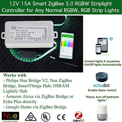 ZigBee 3.0 RGB Strip Light Controller for Normal LED Strip Lights
