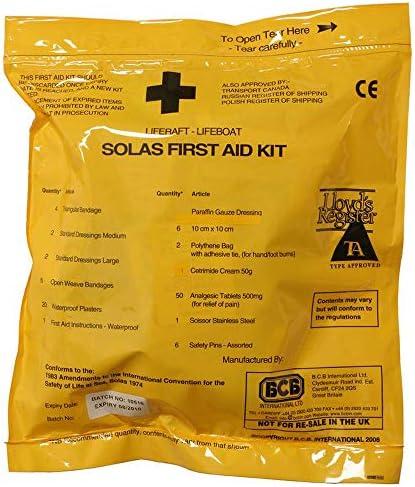 Unbekannt Solas Erste-Hilfe-Set Softpack in Tasche