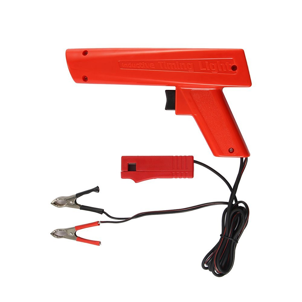 Houkiper Engine Timing Light Automotive,Xenon Ignition Timing Light Gun, Advance Inductive Strobe Timing Light Tool for Car Vehicle Motorcycle, Marine