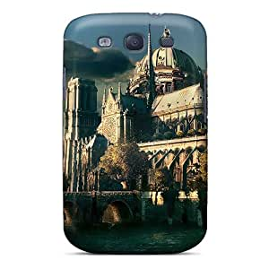 Tpu Shockproof/dirt-proof Antique World Cover Case For Galaxy(s3)