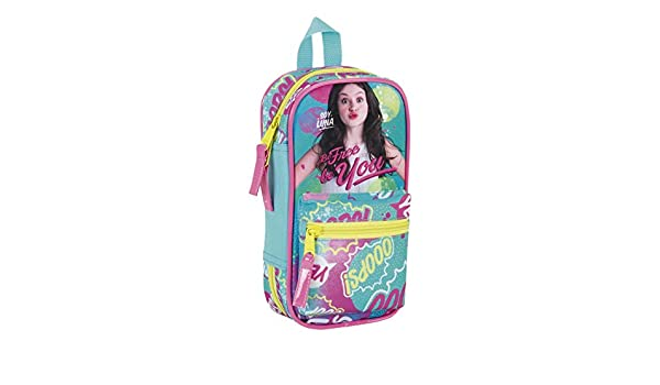 Amazon.com: Soy Luna – Be Free, Backpack Pencil Case with 4 ...