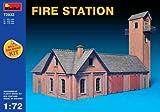 """MINIART Echelle 1: 72""""Fire Station Kit de modèle en plastique"""