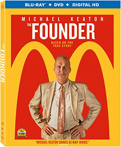 Blu-ray : The Founder (With DVD, Ultraviolet Digital Copy, 2 Disc)
