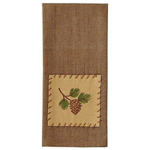 Park Designs Lodge Pine View Decorative Cotton Dish Towel Cleaning Dust Cloths Dining Accessories Linens Household Supplies from Park Designs