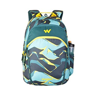 c710b5f2ad Wildcraft 35 Ltrs Turquoise Casual Backpack (11616-Turquoise)  Amazon.in   Bags