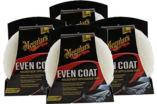 Meguiars X3080 2 Count Even Coat Applicator (4 - Meguiars Pads Wax Applicator