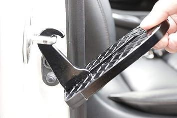 Pasador para puerta de coche, escalera plegable con martillo de seguridad, fácil acceso, para todos los coches: Amazon.es: Coche y moto
