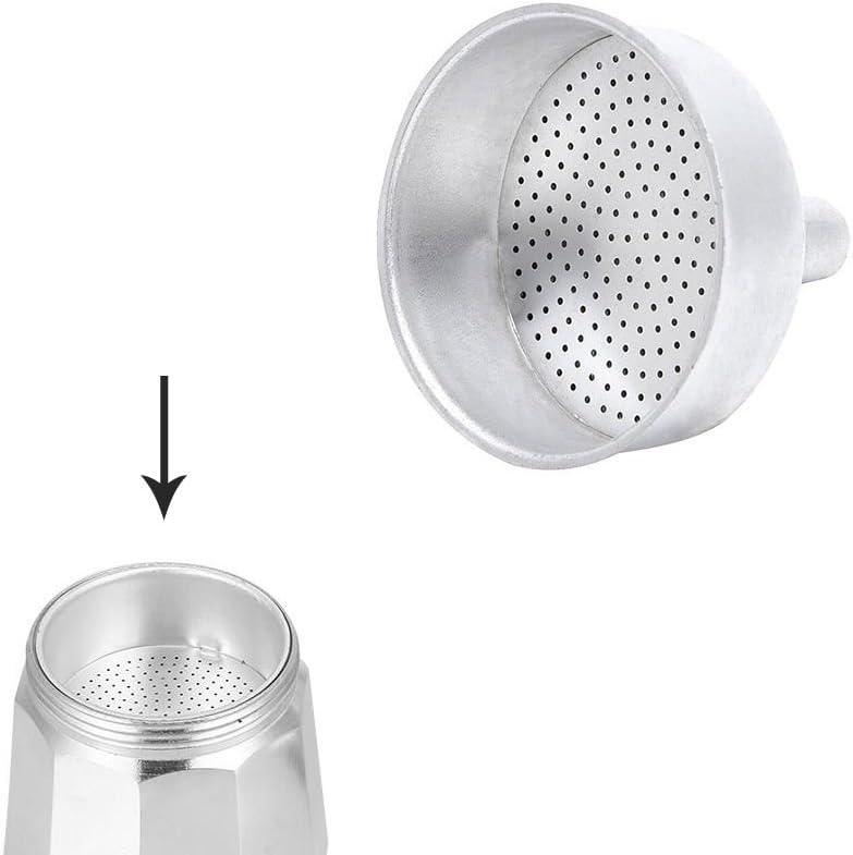 ORYX 5056120 Embudo Cafetera Aluminio Classic/Inducción 2 Tazas: Amazon.es: Hogar