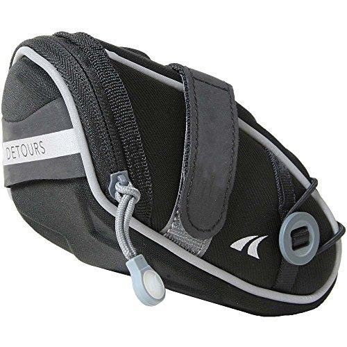 かりて繁栄持参(デトワーズ) Detours メンズ 自転車 Wedgie Seat Bag - Medium [並行輸入品]