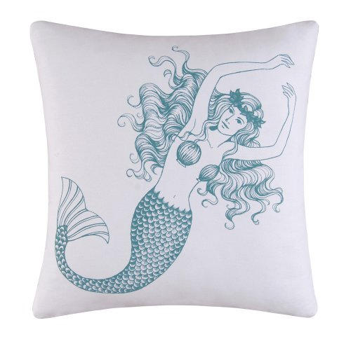 Enterprises Cora Square Mermaid Pillow product image