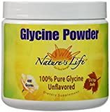 Nature's Life Glycine Powder, 400 Gram For Sale