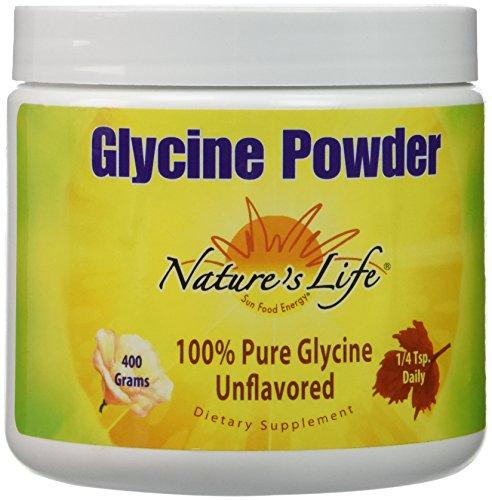Nature's Life Glycine Powder, 400 Gram