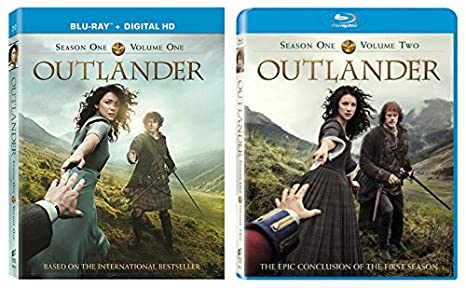 Amazon Com Outlander Season One Complete Collection Blu Ray Volumes 1 And 2 Movies Tv