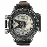 Invicta 18591 Men's Vintage Chatham and Dover Lefty MOP Dial Black Leather Strap Dive Watch Rating