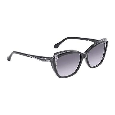 Amazon.com: anteojos de sol Roberto Cavalli Chiusi RC 1051 ...