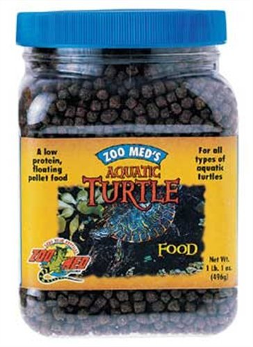 Zoo Med Laboratories SZMZM51 Aquatic Turtle Dry Food, 7.5-Ounce, My Pet Supplies