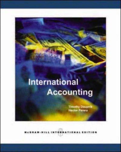 International Accounting (Ie) (Pb 2007)