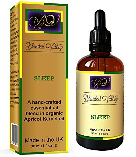 Sleep Oil - Aromatherapy Aid for Better, Deep Sleep. Lavender, Chamomile...
