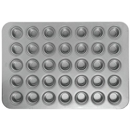 Metallic Chicago Muffin - Chicago Metallic 42756 Mini Crown Muffin Pan 35-on (5 rows of 7) 3 oz. capacity