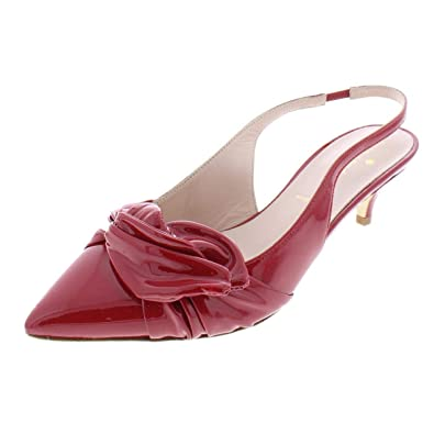 6888159dcb5f Amazon.com  Kate Spade Womens Ophelia Patent Pumps Slingback Heels  Shoes