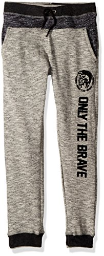 Diesel Big Boys' Jogger, Heather Slub Jebf, 8
