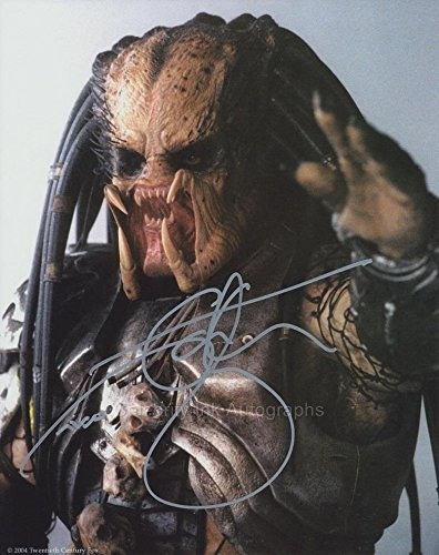 IAN WHYTE as Predator - Aliens Vs. Predator GENUINE AUTOGRAPH