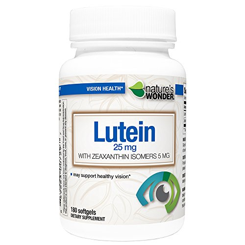 Natures Life 50 Caps - Lutein 25mg Zeaxanthin 5mg Soft Gels180ct