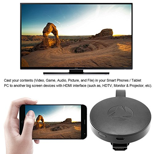WiFi Display Dongle Wireless Mini Display Receiver Mirror Dongle HDMI Adapter TV Miracast DLNA Airplay for iOS iPhone iPad Android Device Smartphone Macbook by XMBest (Image #5)