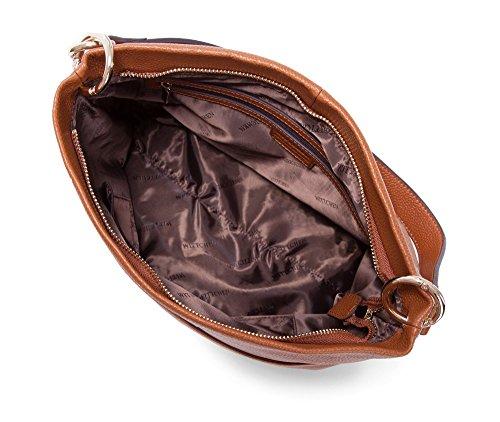 Wittchen Borsa in pelle di eleganza | Colore: Rosso | Materiale: Pelle di grano | Altezza (cm): 29 - Larghezza (cm): 31 | Collezione: Elegance | 83-4E-422-5