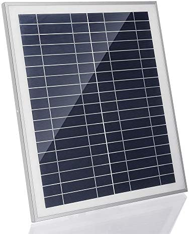 Wuxingqing Solarpanel mit DC-USB-Lade Doppel USB-Anschluss Saugnäpfe for Camping 25W tragbare Solar-Panel Kit Reisen Solar-Ladegerät (Color : Black, Size : 25W)