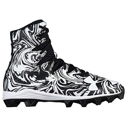 Under Armour Highlight RM American Footballschuhe - schwarz/weiß White/Black Lux