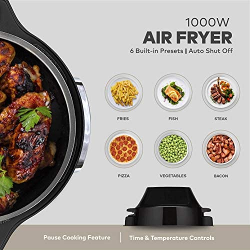 ChefWave Pressure Cooker and Air Fryer Swap Pot Multi-Cooker (6 Qt, 12 Presets)