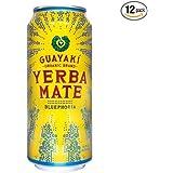 Guayaki Yerba Mate, Bluephoria, 16 Oz (Pack of 12)