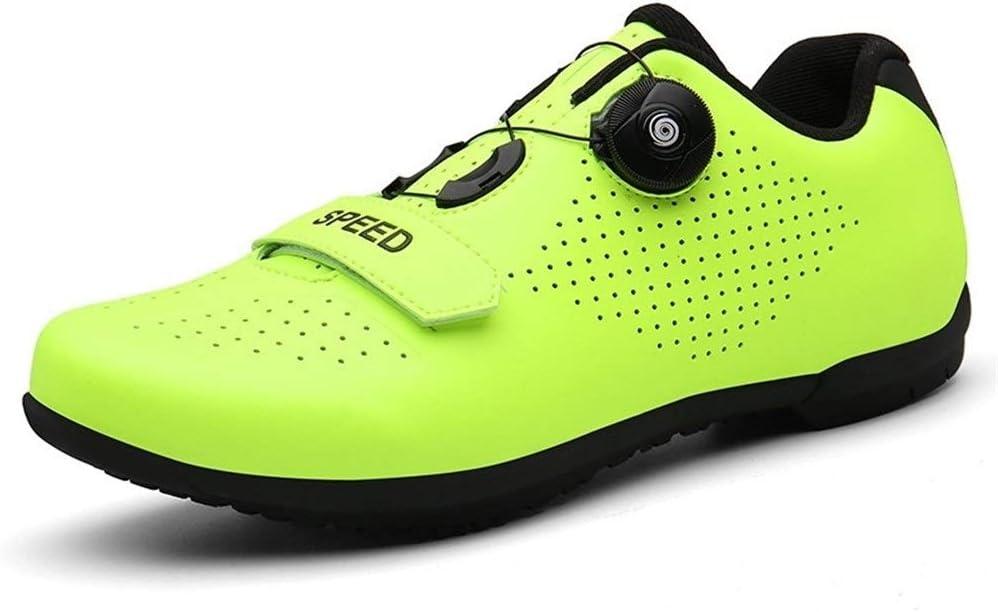 Carbon Fiber Sole Easy Clean Self-Locking Road Bike Shoes UK 5.5-12.5//US 6.5-13.5 GET Men Women SPD Cycling Shoes with Ratchet Closure Color : A, Size : UK-5.5//EU39//US-6.5