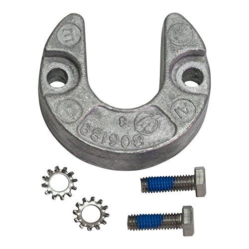 - Quicksilver 806189Q1 Aluminum Anode - MerCruiser Alpha One Gen II Trim Cylinders