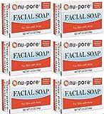 LOT of 6 NU PORE ACNE SOAP TRANSPARENT FACIAL BAR Review