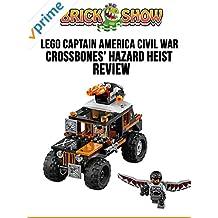 Review: Lego Captain America Civil War Crossbones' Hazard Heist Review
