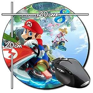 Mario Kart 8 Koopaling redondo alfombrilla de ratón PC
