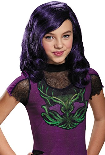 Mal Costume Party City (Mal Descendants Child Wig)