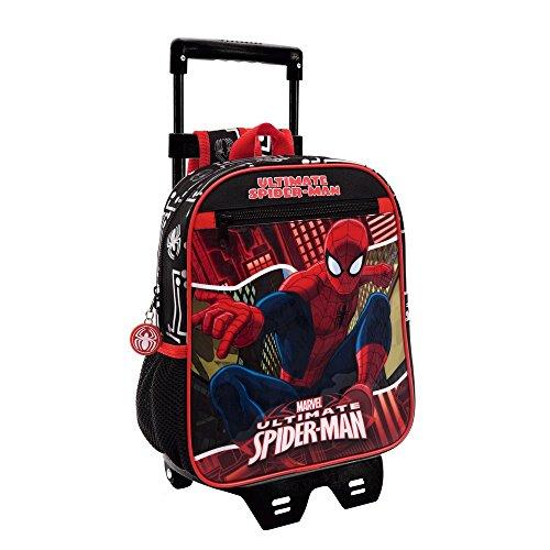 Marvel 44521M1 Spiderman Zainetto per Bambini, Poliestere, Rosso, 28 cm
